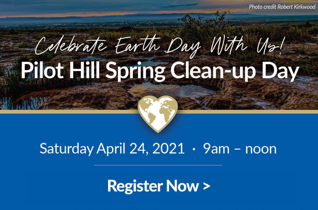 Register for Pilot Hill Spring Clean up
