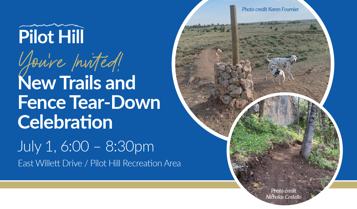 You're invited! New trails and fence tear-down celebration